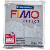 Silver Glitter Fimo Effect Clay