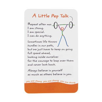 Pep Talk Wallet Card