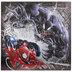 Venom & Spider-Man Metallic Canvas Wall Decor
