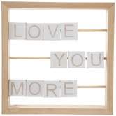 Love You More Wood Decor