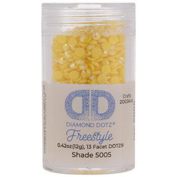 Diamond Dotz Freestyle Gems - Yellow
