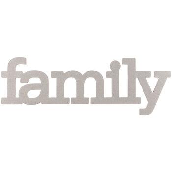 Family Chipboard Shape