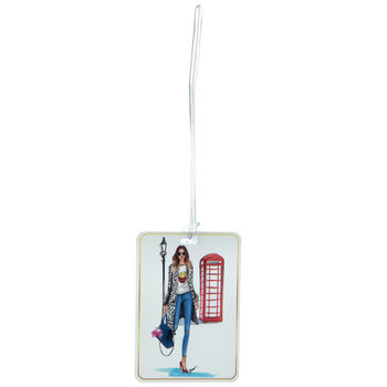 Telephone Booth Luggage Tag
