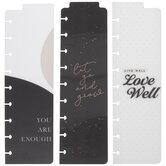 Black & White Happy Planner Bookmarks