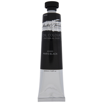 Mars Black Master's Touch Oil Paint - 6.8 Ounce