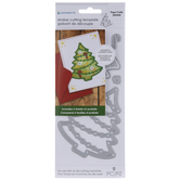 Christmas Tree Shaker Dies