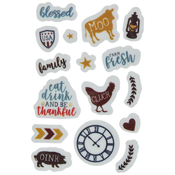 Farm Fresh Cling Stamps