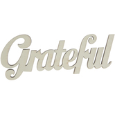 Grateful Wood Cutout
