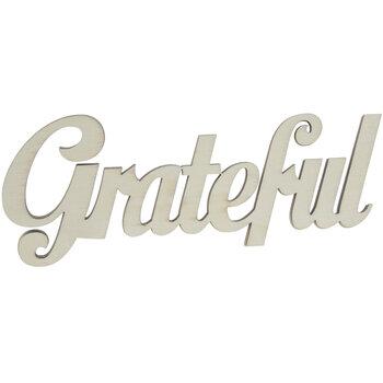 Grateful Wood Cutout