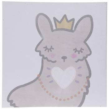 Fairy Llama Canvas Wall Decor