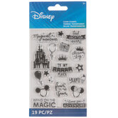 Disney World Vacation Clear Stamps