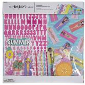 """Summer Scrapbook Kit - 12"""" x 12"""""""
