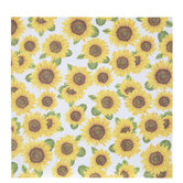 "Sunflower Scrapbook Paper - 12"" x 12"""
