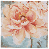 Pink Peonies Canvas Wall Decor