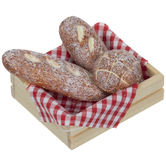 Miniature French Bread In Crate