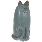Blue Sitting Cat