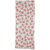 Watercolor Peaches Table Runner