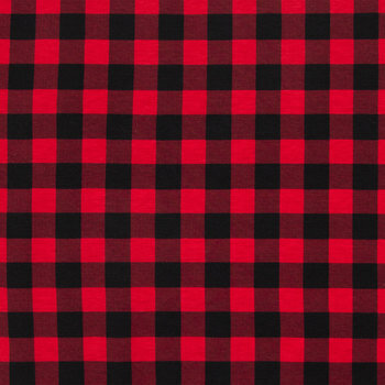 Buffalo Check Knit Fabric
