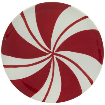 Peppermint Swirl Plate