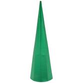 Metallic Green Cone Tree