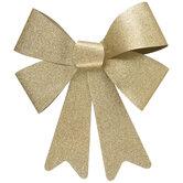 Gold Glitter Bow - Medium