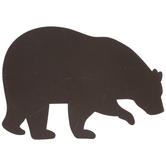 Brown Bear Painted Wood Shape