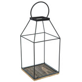 Black Metal Wire Lantern