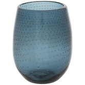 Bubble Dot Stemless Glass