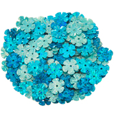 Flower Cup Sequins - 9mm