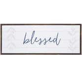 Blessed Wood Wall Decor