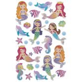 Mermaid & Dolphin Foil Stickers