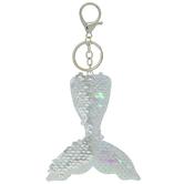 Sequin Mermaid Tail Keychain