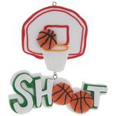 Basketball Hoop Ornament