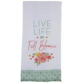 Full Bloom Kitchen Towel