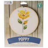 Poppy Cross Stitch Kit