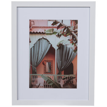 Tropical Balcony Framed Wall Decor