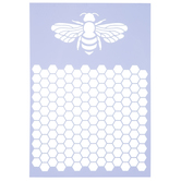 Bumblebee & Honeycomb Stencil
