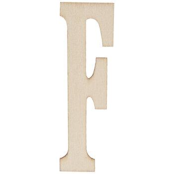"""Vintage Sign Wood Letters F - 4"""""""