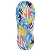 Tropical Animal Print Liner Socks