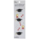 Graduation Rhinestone Stickers