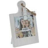 "Whitewash Mini Board Clip Frame - 3"" x 3"""