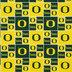 University Of Oregon Block Collegiate Cotton Fabric