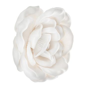 White Wild Rose Wall Decor - Small