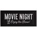 Movie Night With Mickey Wood Wall Decor