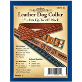 Leather Dog Collar Kit - Large
