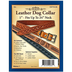 Leather Dog Collar Kit - Large