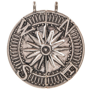 You Are My Compass Pendants