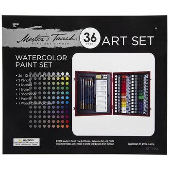 Watercolor Art Set - 36 Pieces