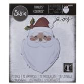 Sizzix Thinlits Colorize Santa's Wish Dies