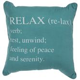 Teal Relax Pillow